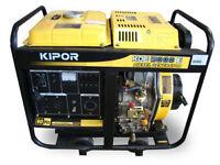 Kipor KDE5000- Diesel Generator *SALE* *Toys4Boys Motorsports*