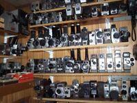 Projecteurs caméras de collection
