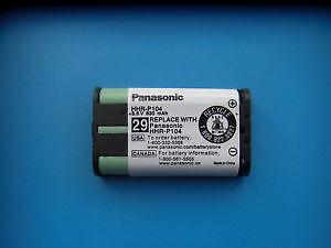 Brand New Panasonic HHR-P104 Cordless Phone Battery
