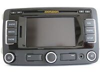 VW MFD3 DVD SAT NAV RNS 310 GPS Fits Most 2005 on VW