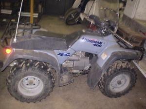 $500.00 REWARD FOR STOLEN 1996 HONDA 400 FOREMAN ATV/ PARTS