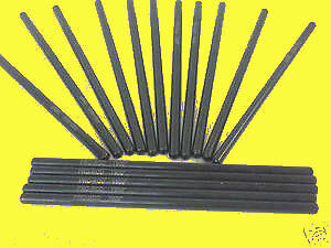 Sbc Small Block Chevy 7.900 Push Rods Chromemoly +.100 Pushrods 7.9 5/16 350 383