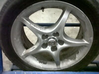 toyota celica alloys x5 could do with a refurb 1 flat