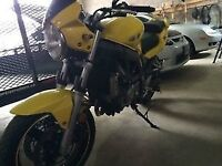 2005 SV650 LOW KM, showroom condition
