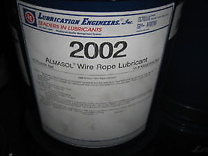LUBRICATION ENGINEERS QUARTER DRUM 2002 ALMASOL WIRE ROPE LUBE