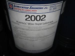 LUBRICATION ENGINEERS QUARTER DRUM 2002 ALMASOL WIRE ROPE LUBE