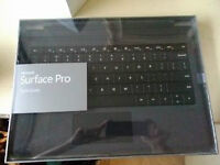 Microsoft Surface Pro 3 Type Cover – Black, New