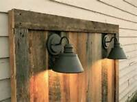 Barn board - siding - furniture