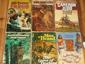 72 Western Books For Sale.