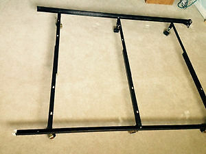 Heavy-Duty Iron Bed Frame - Twin, Double or Queen size