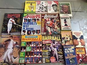 Lot of Rare/Vintage Baseball Magazines, Novels and Play Books\