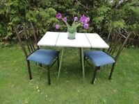 RETRO Table & Chairs for 2