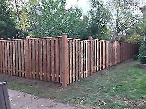 Wooden Fencing, New or Replace, Fence Posts
