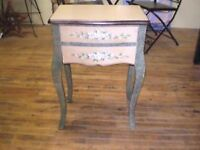 2 Drawer Pretty Painted Chest UP TO 60% OFF SALE