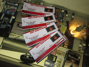 GIFT CERTIFICATES NOW AVAILABLE AT MATTS MEDIA OUTLET!!