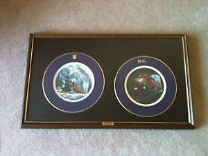 LAST SPIKE CENTENNIAL SPECIAL EDITION PLATES BY TED XARAS