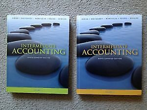 Intermediate Accounting textbook Volume 1&2 (9th CAN edition)