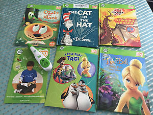 Leap Frog Toy Story 3 Tag Reading system with 5 books