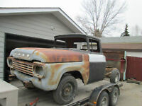 1959 F100 pickup for  parts  or  restore  or  rat rod