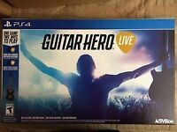 Guitar Hero Live PS4 Used With Guitar