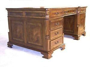 Mahogany Executive Desk Ebay