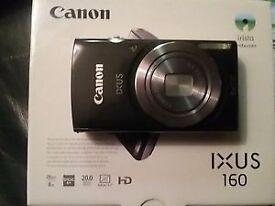Canon Ixus 160 20.0MP Digital Camera (with extras)