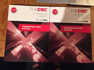 CSC 2016 Canadian Securities Course Complete Study Kit
