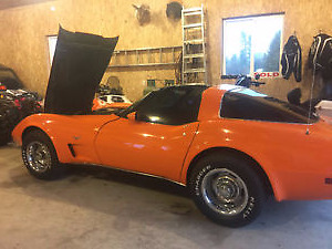 1978 vette 25th anniversary, T-tops with 45,000 kms. SHARP CAR
