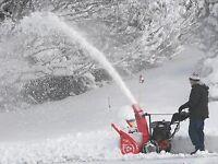 SNOW REMOVAL - $600.00 Full Season - $30.00 or $40.00 Per Visit