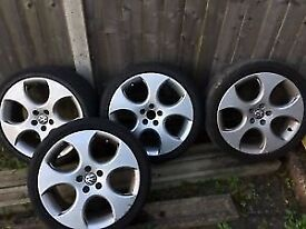 17' golf gti monza wheels and tyres