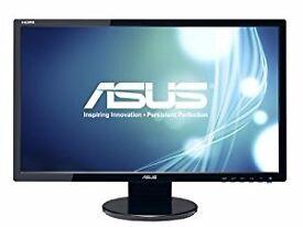 13 X used ASUS PC Monitors - 24'' Widescreen Full HD 1920 x 1080 and 9X LG FLATRON MONITORS