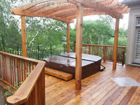 DECK WASH N' STAINING!  REPAIRS TO ROTTEN WOOD, FENCES TOO