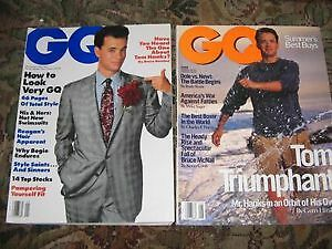 TOM HANKS... 3 Rare Magazines from 1988 to 2005
