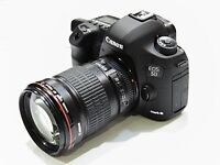 Canon EOS 5D Mark lll and two lenses Shutter Count is 5435