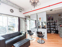 Salon for Sale in new Modern Boutique Building on Dundas West!