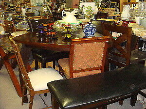 Kitchen  and dining tables and chairs