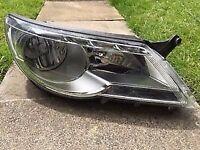volkswagen tiguan headlight 2010