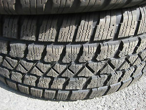 "2-ARTIC CLAW EXTREME-215-70-R16""-55% TREAD LEFT."