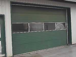 "10' X 14"" AUTOMATIC ROLL UP GARAGE DOOR - READY TO GO"