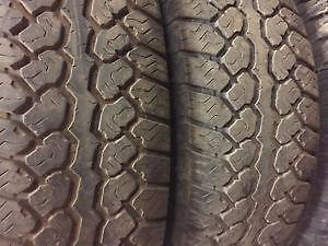 245/70R18Bridgestone Blizzak MZ-03 Set of 2 Used winter tires 85%tread left Free Installation and Balance