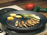 NEW, never used STOVETOP BBQ.