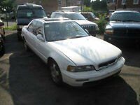 White Acura Legend (5 speed) First Come, First Served BEST OFFER