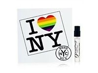 BOND NO.9 EDP. 1.7ML. SAMPLE SIZE. I LOVE NEW YORK FOR MARRIAGE EQUALITY.