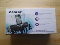 Azatom street dance mini portable speaker for iPod and iPhone with superbass