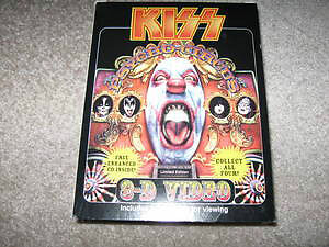 Kiss-Psycho Circus 3-D Video with 3d glasses/cd + solo promo