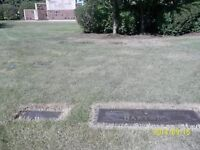 Two Cemetery plots....side by side in Mountain View Memorial Gar