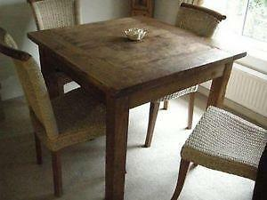 Wooden Rustic Dining Tables