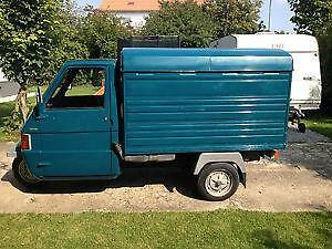 piaggio ape tm 703 ebay. Black Bedroom Furniture Sets. Home Design Ideas
