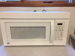 Slightly used LG microwave