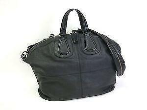 Givenchy Black Leather Medium Nightingale Tote Bag- Missing Strap RXlxO